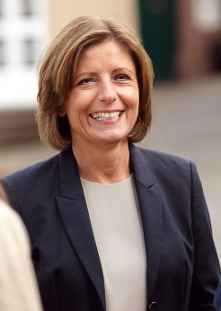 Ministerpräsidentin Malu Dreyer kommt am 15. September 2017 zum SPD-Familienfest nach Rastatt